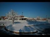 Школа объявление в новостях. Закрыт из-за снега. Мой брат в 48 секунд)))